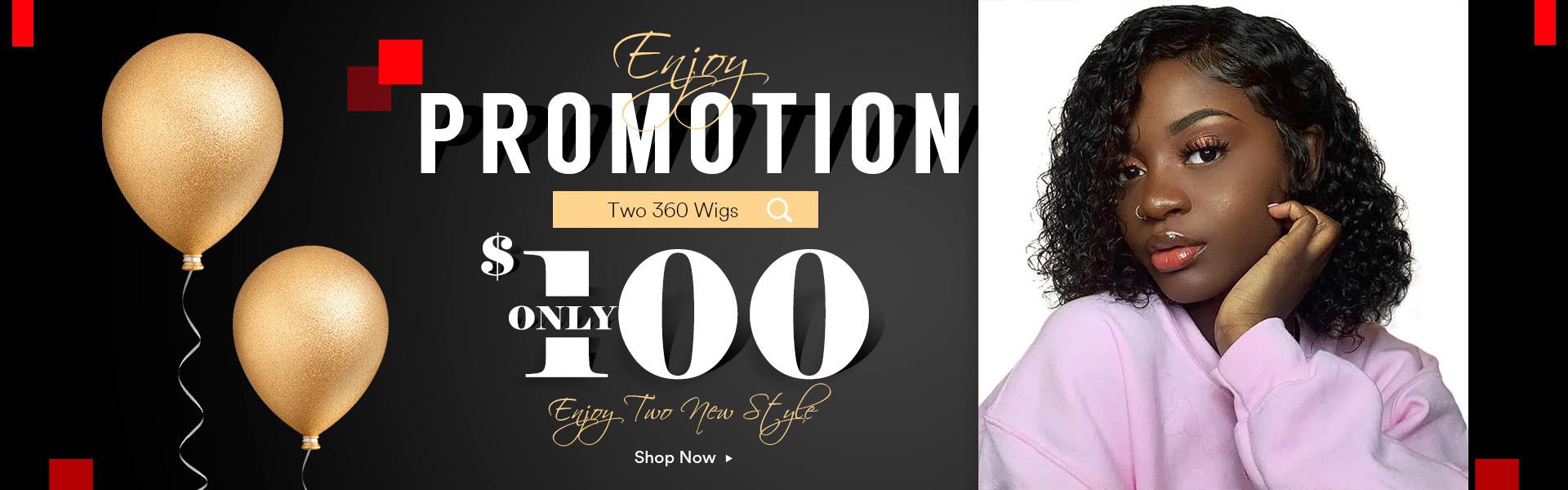 Short 360 wig promo