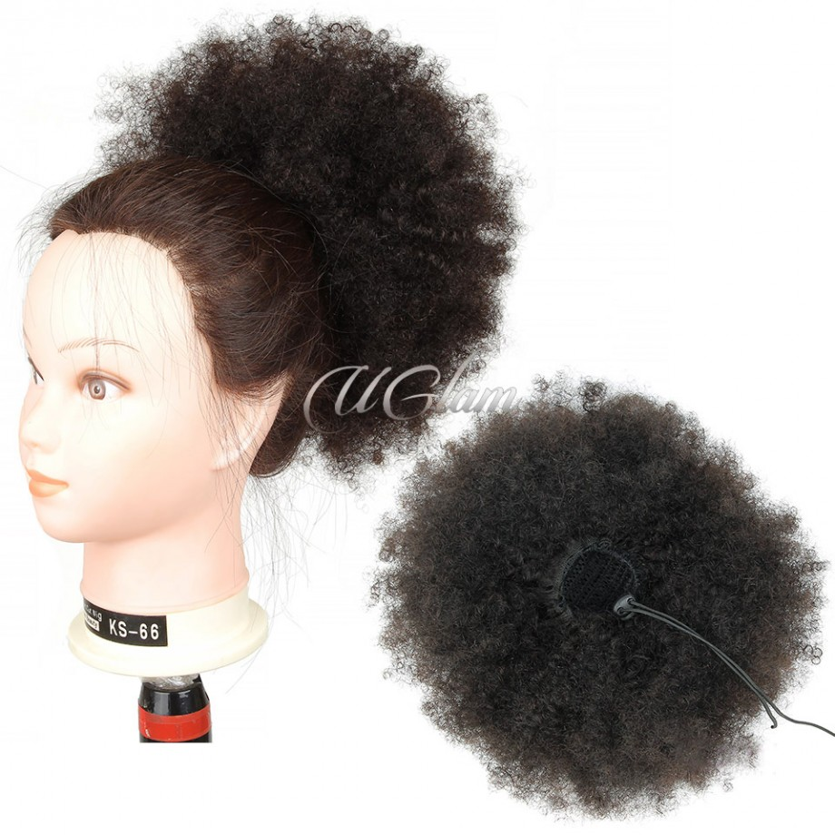 Uglam Extensions Afro Kinky Curly With Drawstring Ponytail