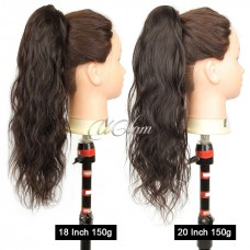 Uglam Hair Extensions Body Wave With Drawstring Ponytail