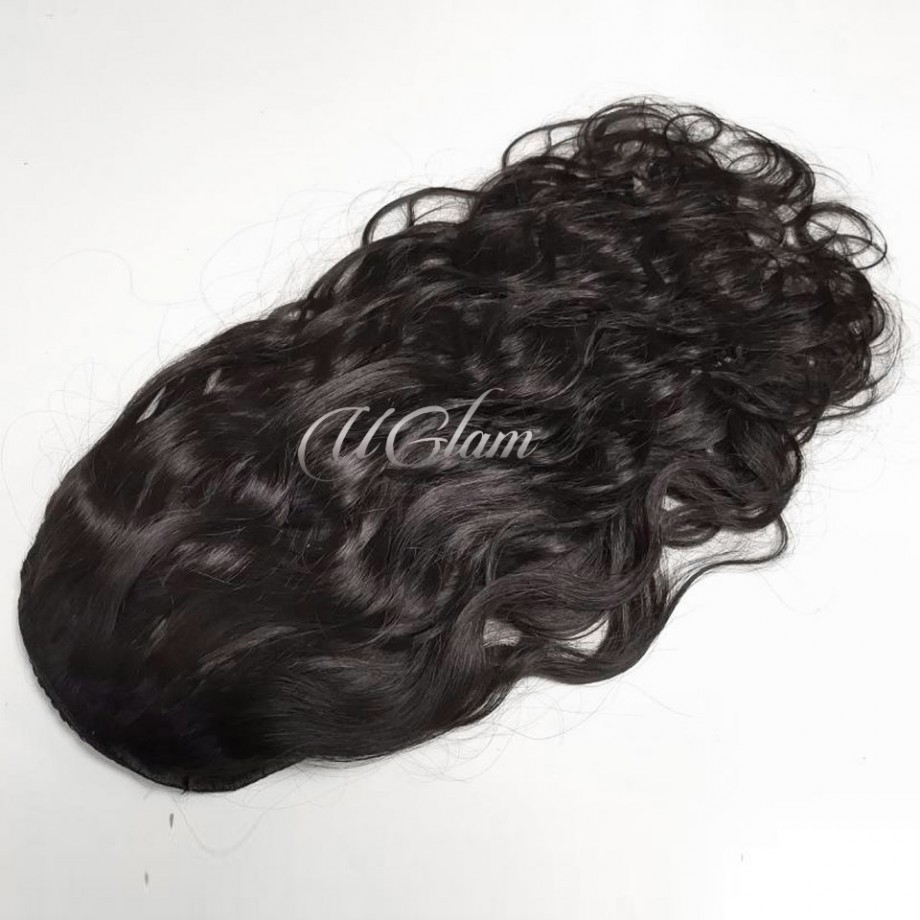 Uglam Extensions Body Wave With Drawstring Ponytail