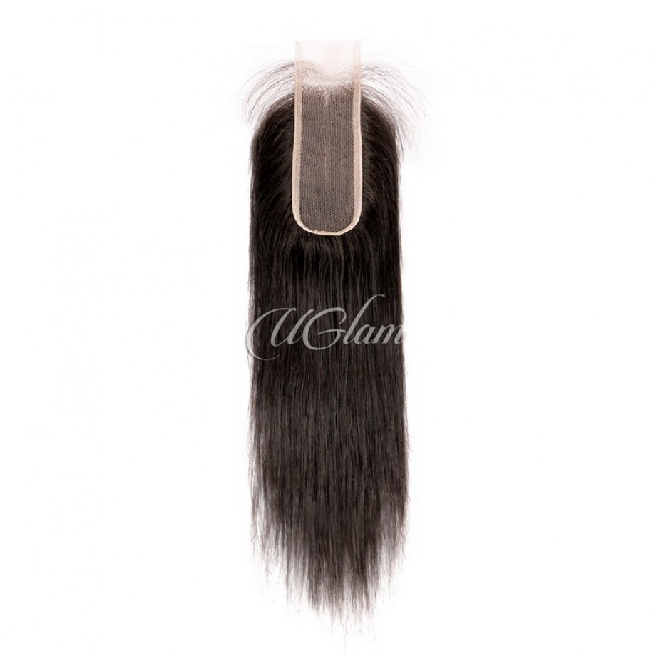 Virgin Hair 2x6 Lace Closure With Bundles Straight Hair Sexy Formula