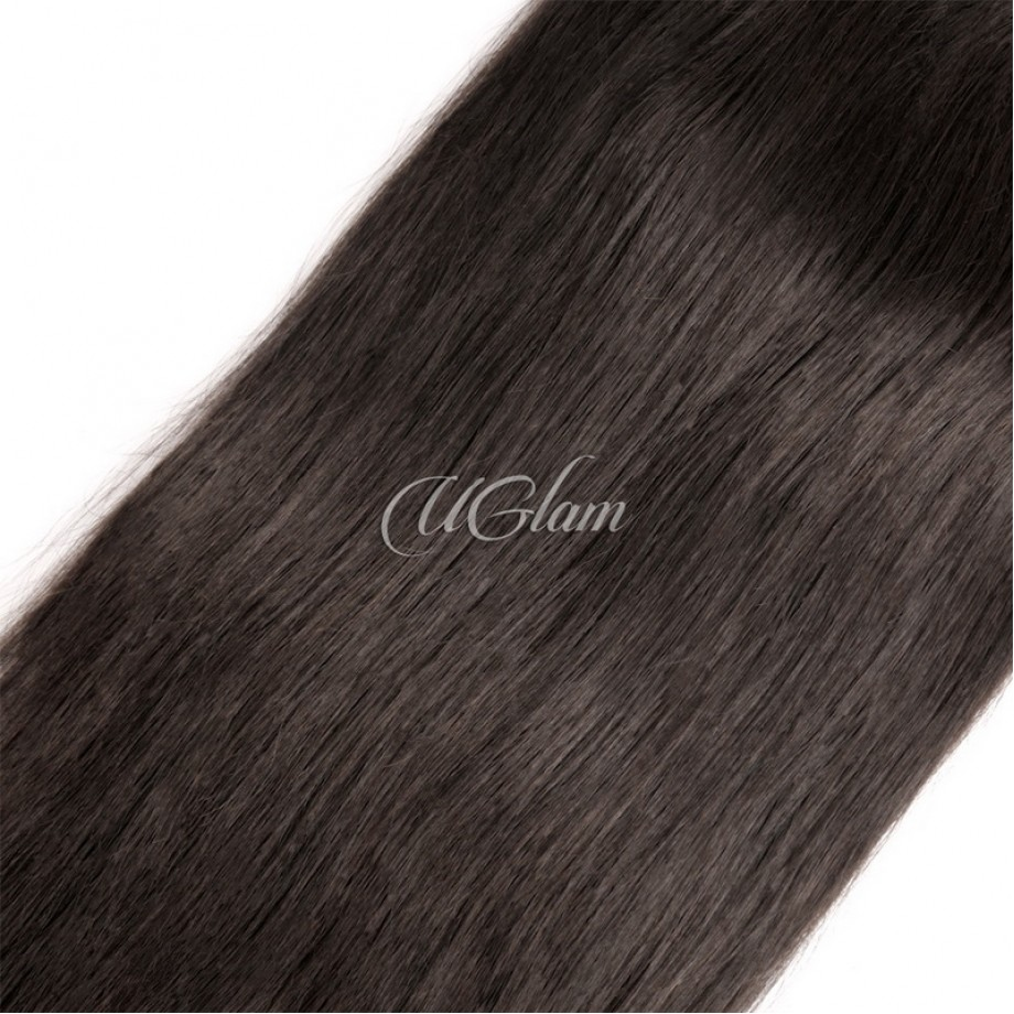 Virgin Hair 6x6 Lace Closure With Bundles Straight Hair Sexy Formula