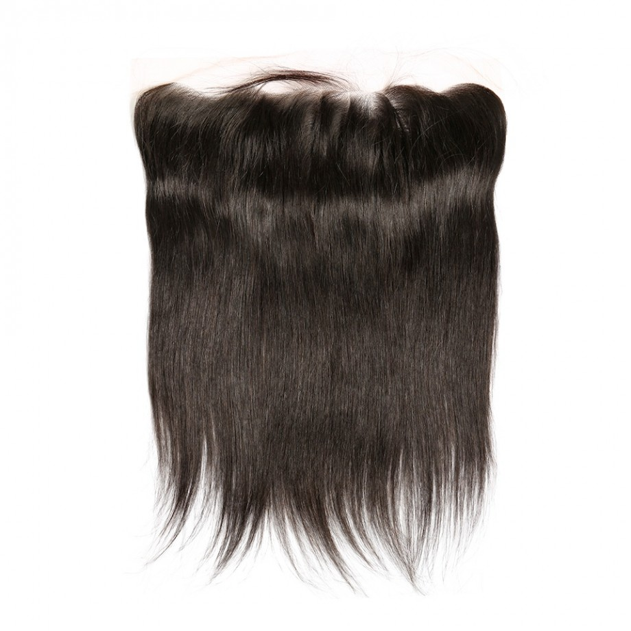 Uglam Hair 13x4 Transparent Swiss Lace Frontal Closure Straight