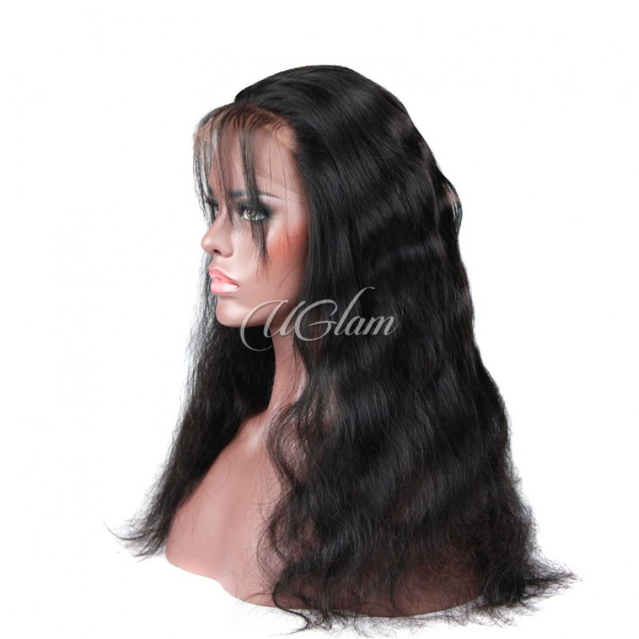 Uglam Hair 360 Lace Front Closure Indian Body Wave Hair Sexy Formula