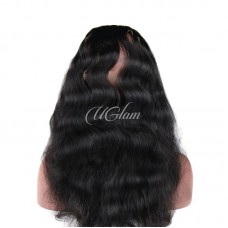 Uglam Hair 360 Lace Frontal Closure Peruvian Body Wave