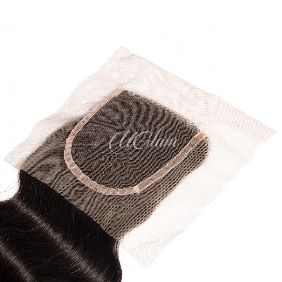 Uglam Hair 4x4 Swiss Lace Closure Malaysian Body Wave