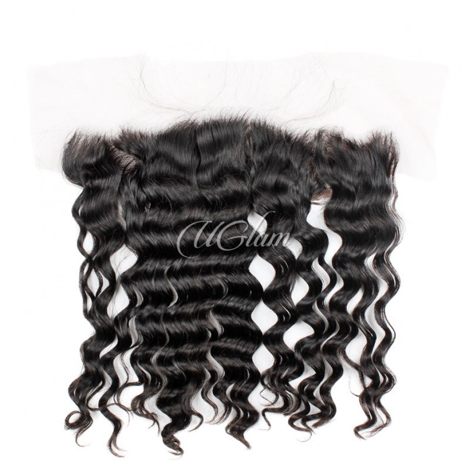 Uglam Hair 13x4 Lace Front Closure Malaysian Nature Wave Sexy Formula