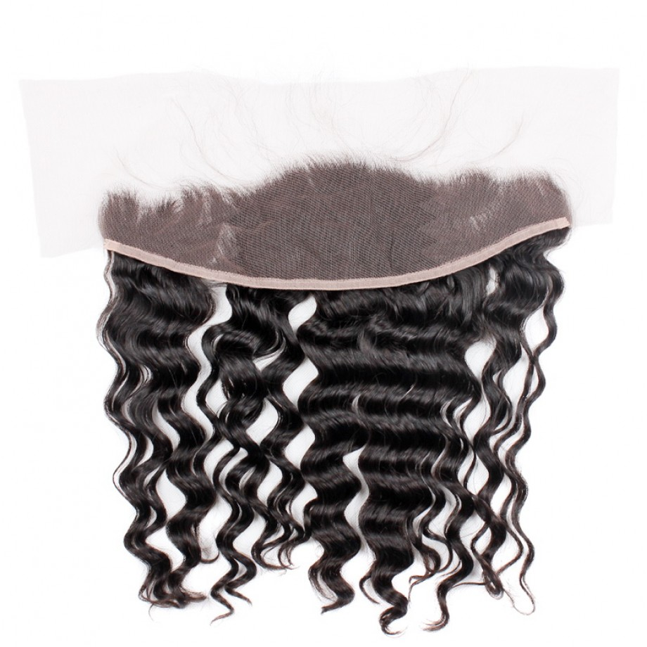 Uglam 13x4 Lace Front Closure Brazilian Nature Wave Sexy Formula