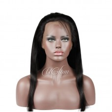 Uglam 360 Lace Front Closure Brazilian Straight Hair Sexy Formula