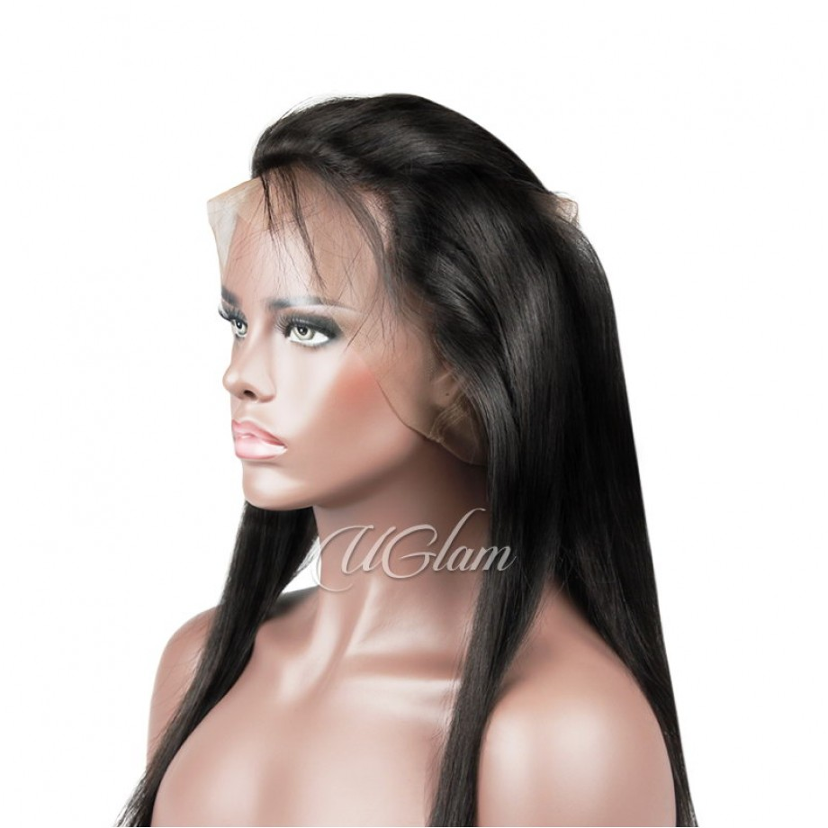Uglam Hair 360 Lace Front Closure Brazilian Straight Hair Sexy Formula