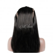 Uglam 360 Lace Frontal Closure Indian Straight
