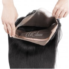 Uglam Hair 360 Lace Front Closure Malaysian Straight Sexy Formula
