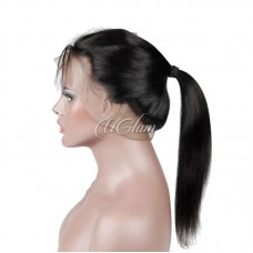 Uglam Hair 360 Lace Front Closure Peruvian Straight Sexy Formula