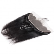 Uglam Hair 4x13 Lace Front Closure Indian Straight Sexy Formula