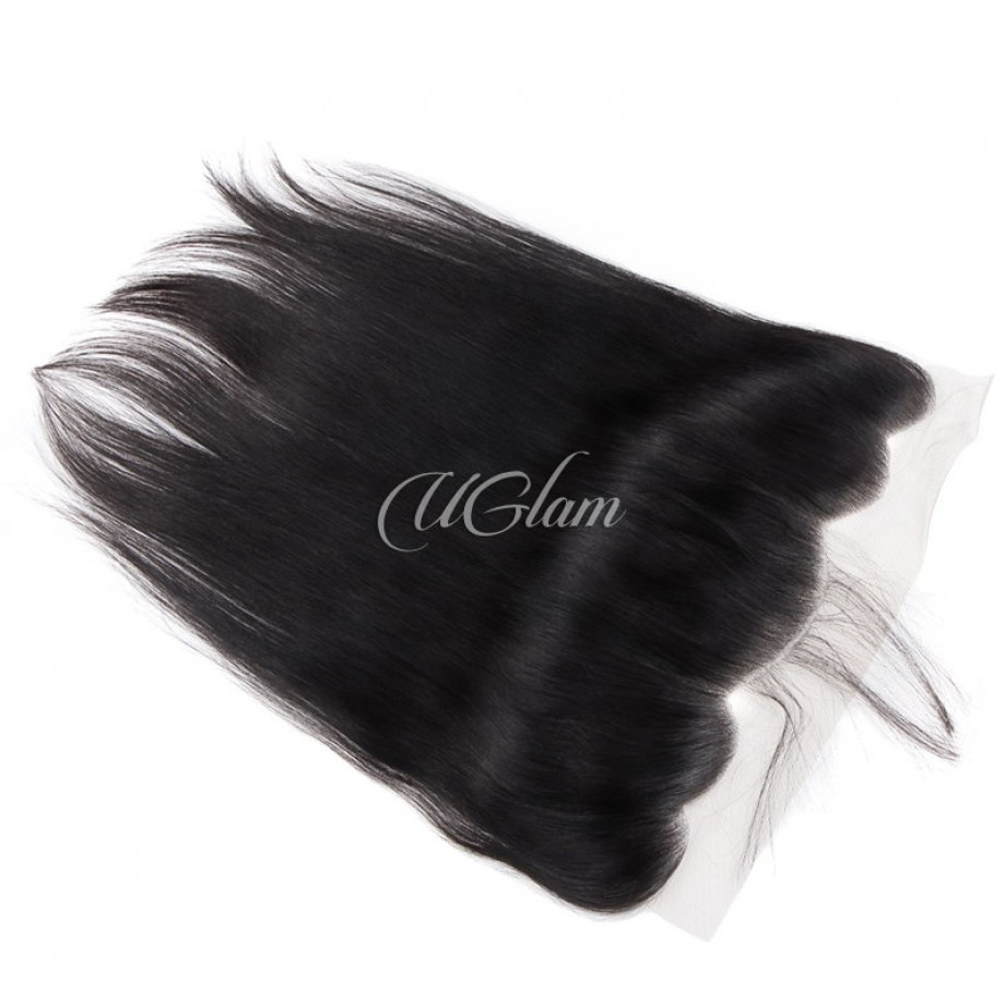 Uglam Hair 4x13 Swiss Lace Frontal Closure Peruvian Staright Hair
