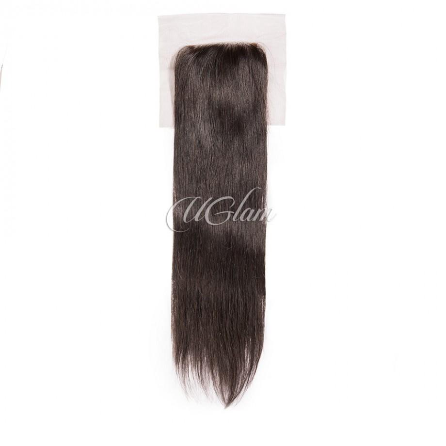 Uglam Hair 4x4 Swiss Lace Closure Peruvian Straight
