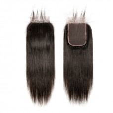 Uglam Hair 5X5 Transparent Lace Closure Straight Sexy Formula
