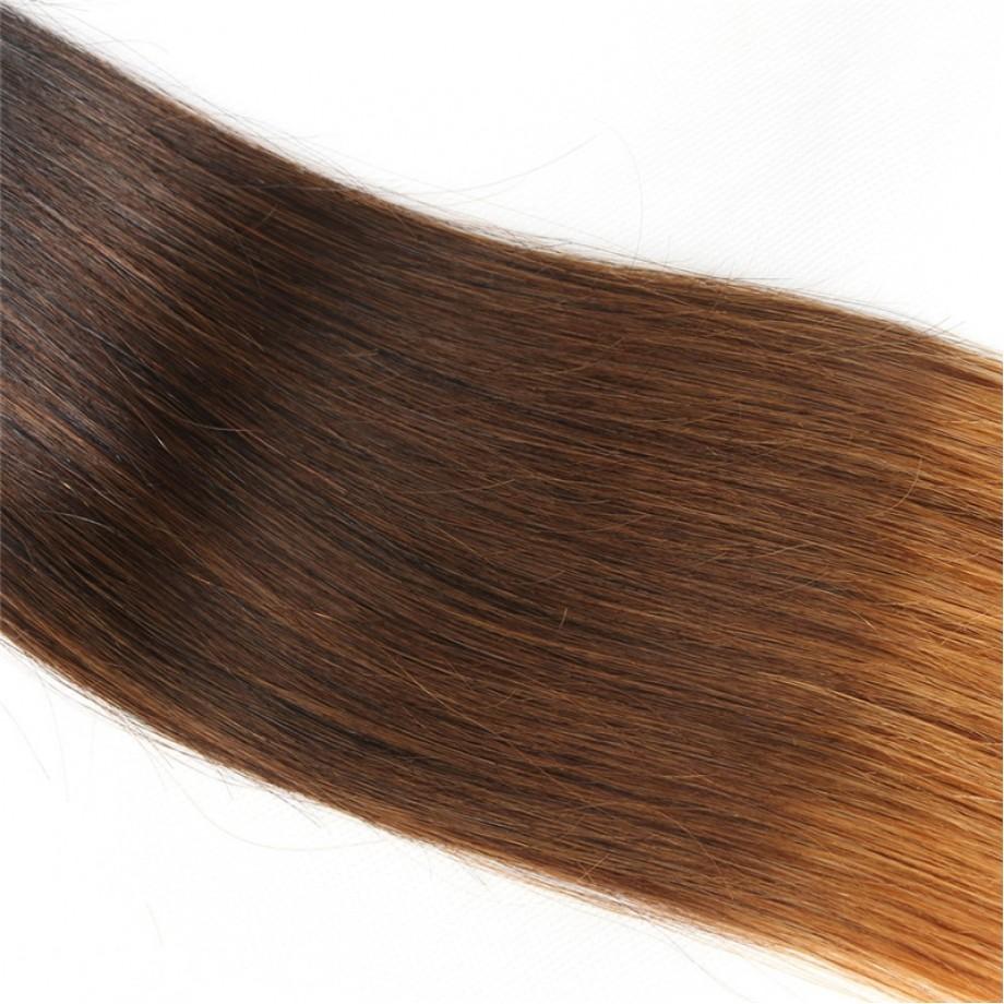 T1B/4/30 Ombre Hair Bundles Virgin Straight Hair Weave