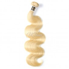 Uglam Hair Blonde #613 Color Body Wave Bundles Deal