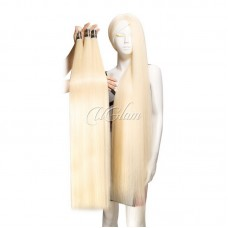 Uglam Hair Honey Blonde #613 Color Straight Bundles Deal