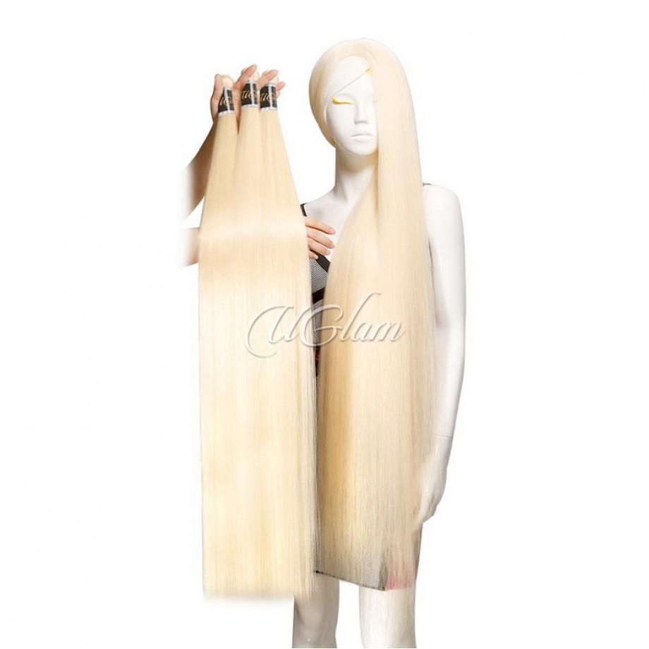 Uglam Hair Honey Blonde #613 Color Straight Bundles Deal