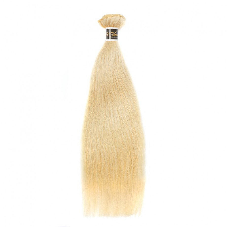 Uglam Honey Blonde #613 Color Straight Bundles Deal