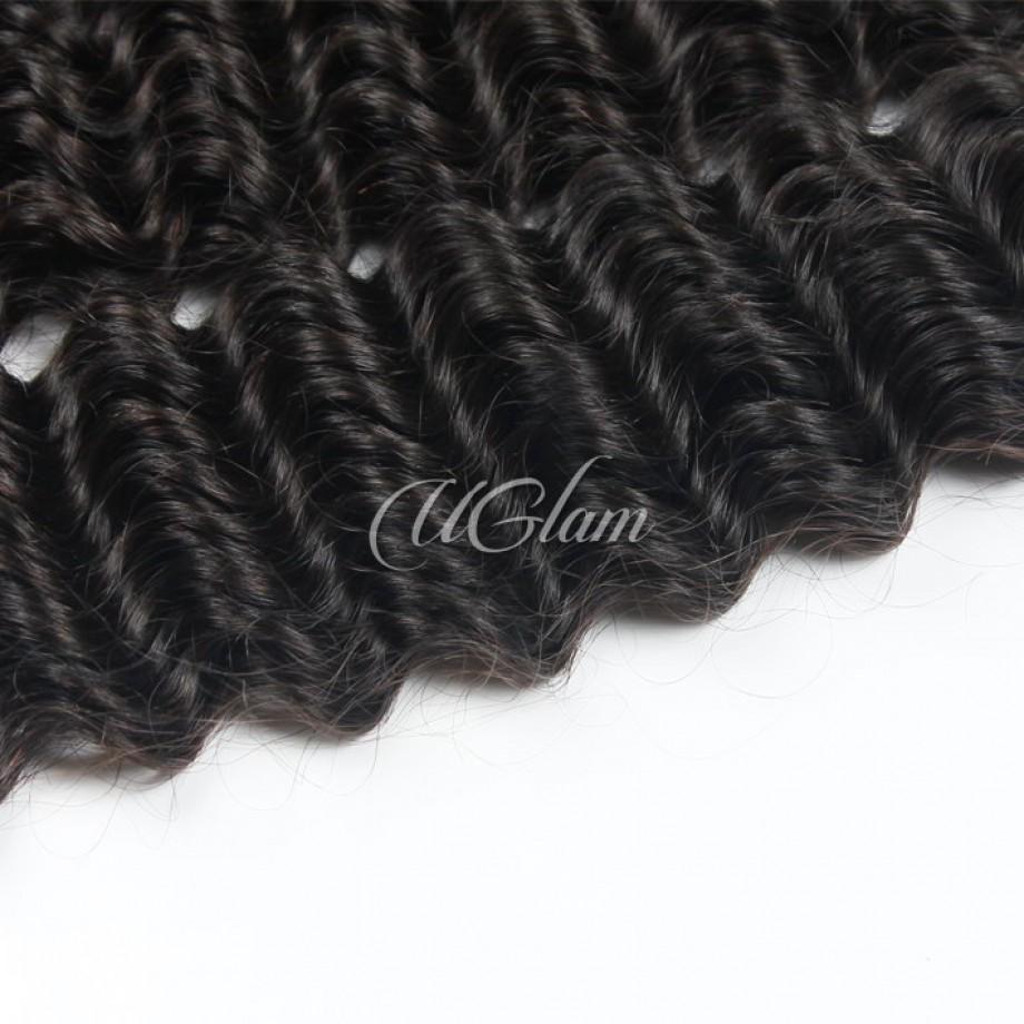 Uglam Hair Peruvian Deep Wave 3pcs/4pcs Bundles Deal