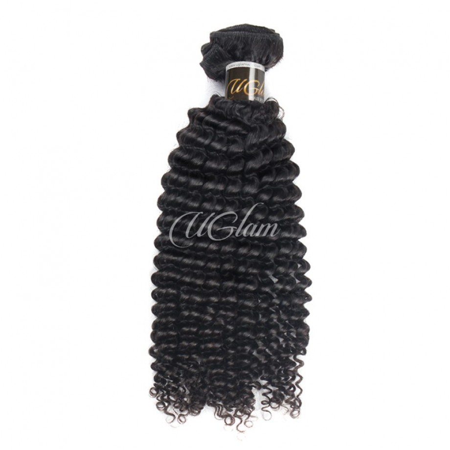Uglam Hair Malaysian Kinky Curly 3pcs/4pcs Bundles Deal