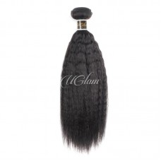 Uglam Hair Brazilian Kinky Straight 3pcs/4pcs Bundles Deal