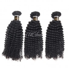 Uglam Virgin Hair Mongolian Kinky Curly 3pcs/4pcs Bundles Deal Sexy Formula