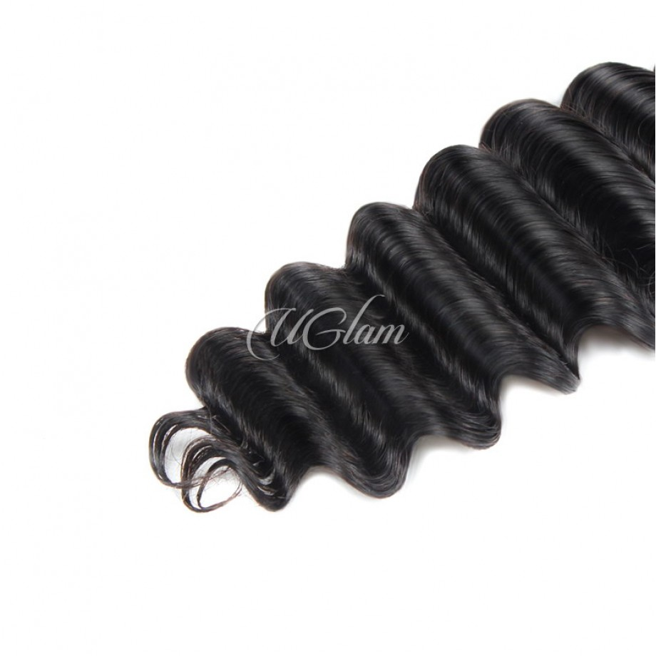 Uglam Hair Brazilian Loose Deep 3pcs/4pcs Bundles Deal