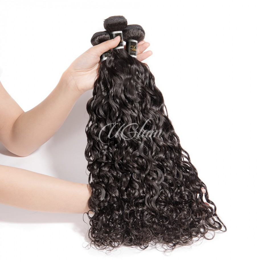 Uglam Hair Malaysian Water Wave 3pcs/4pcs Bundles Deal