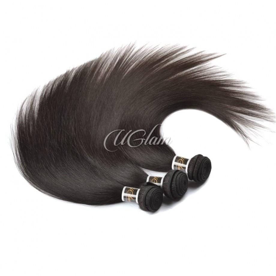 Uglam Hair Indian Straight 3pcs/4pcs Bundles Deal