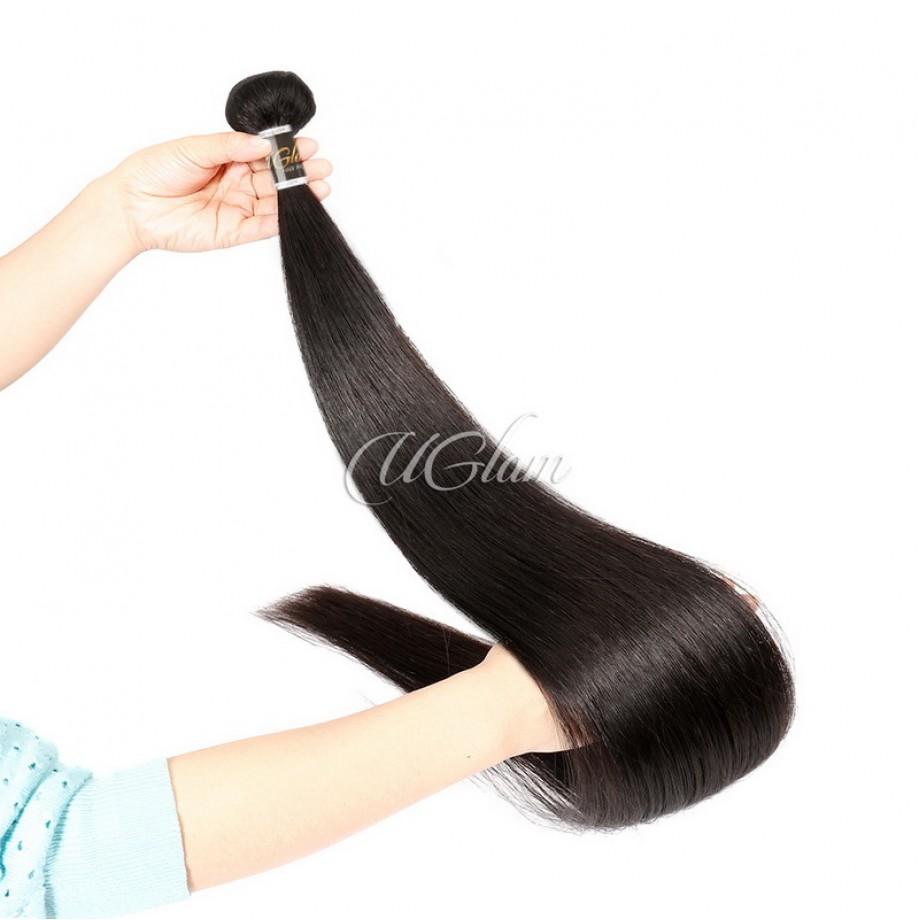 Uglam Hair Malaysian Straight 3pcs/4pcs Bundles Deal