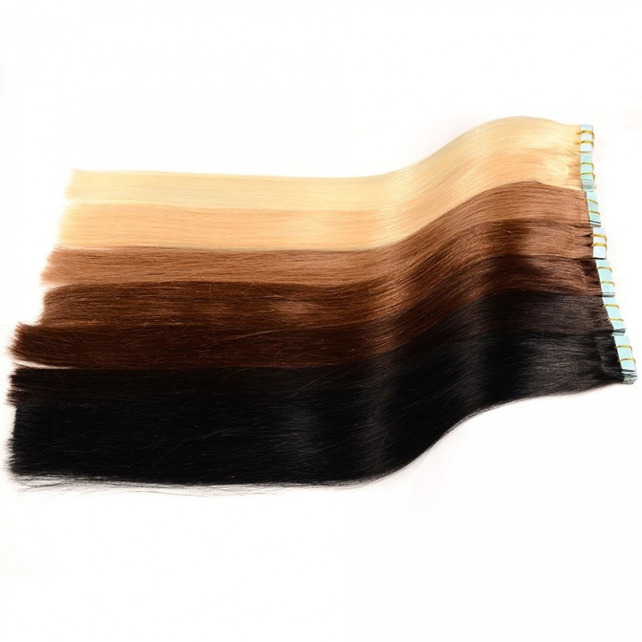 Uglam Hair Tape Hair Extensions Human Hair