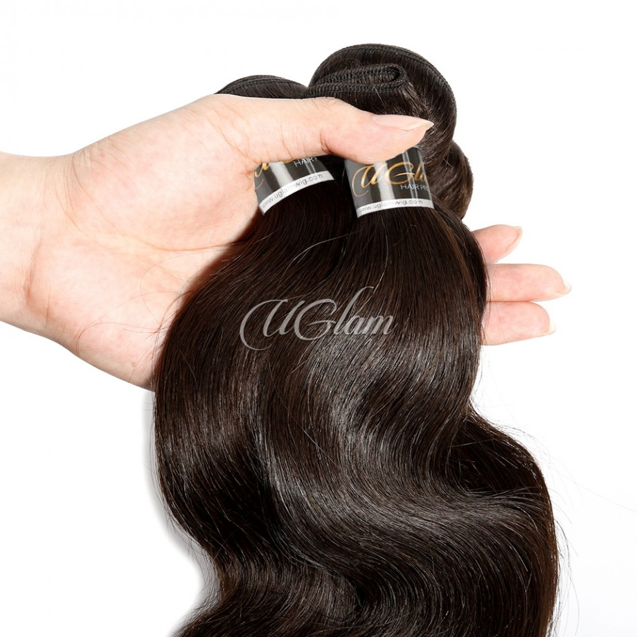 Uglam Hair 3/4pcs Bundles Body Wave #2 Raw Virgin Hair Sexy Formula