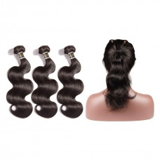 Uglam 360 Lace Front With Bundles Body Wave