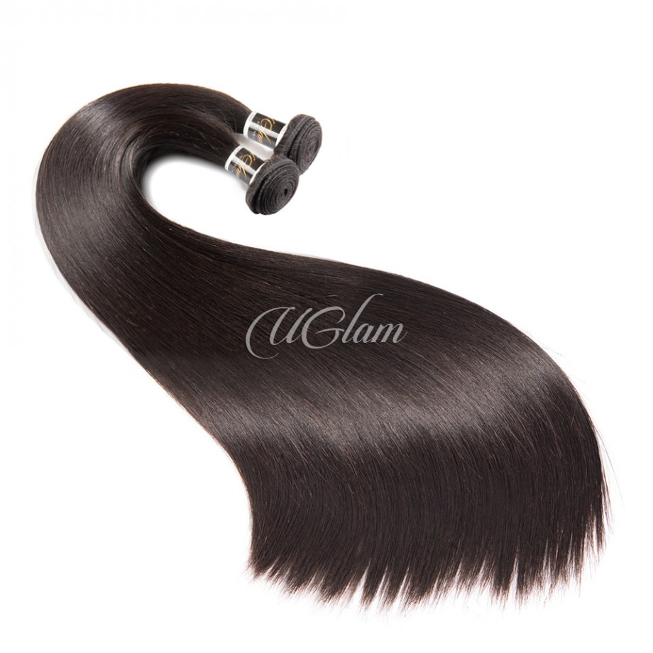 Uglam Hair 360 Lace Front Closure With Bundles Indian Straight Sexy Formula