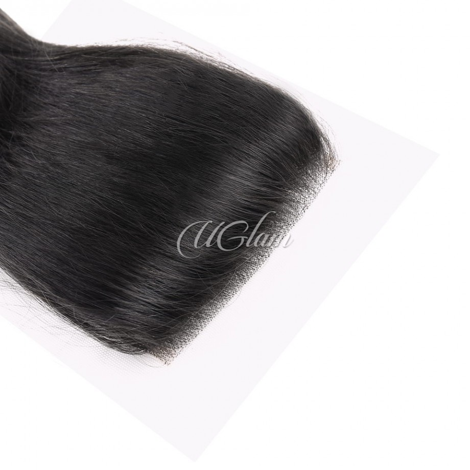 Uglam Hair 4x4 Lace Closure With Bundles Peruvian Loose Wave Sexy Formula