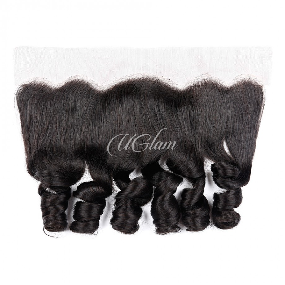 Uglam Hair 4x13 Lace Front Closure Brazilian Loose Wave Sexy Formula