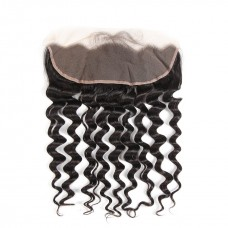 Uglam 13x4 Transparent Lace Front Closure Loose Wave Sexy Formula