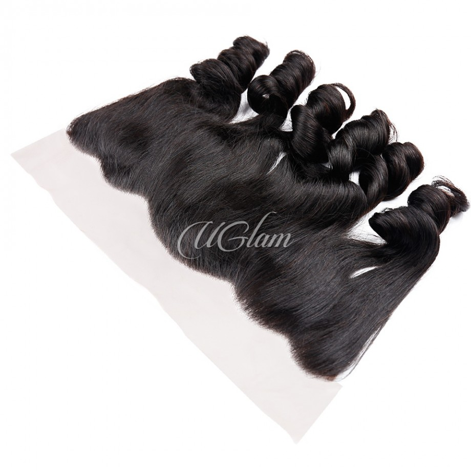 Uglam Hair 4x13 Lace Front Closure Indian Loose Wave Sexy Formula