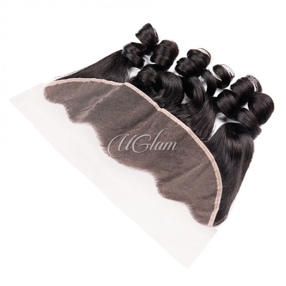 Uglam Hair 4x13 Lace Front Closure Malaysian Loose Wave Sexy Formula