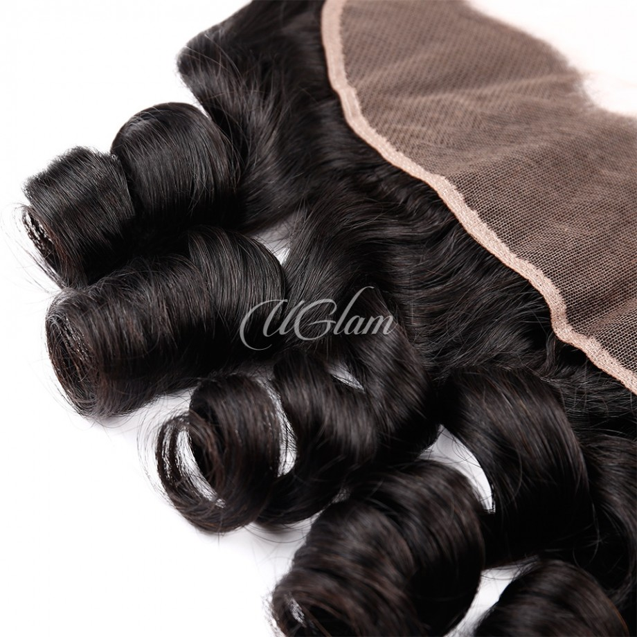 Uglam Hair 4x13 Lace Front Closure Peruvian Loose Wave Sexy Formula