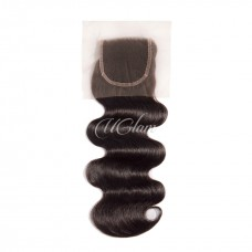 Uglam 4x4 Lace Closure Body Wave Sexy Formula