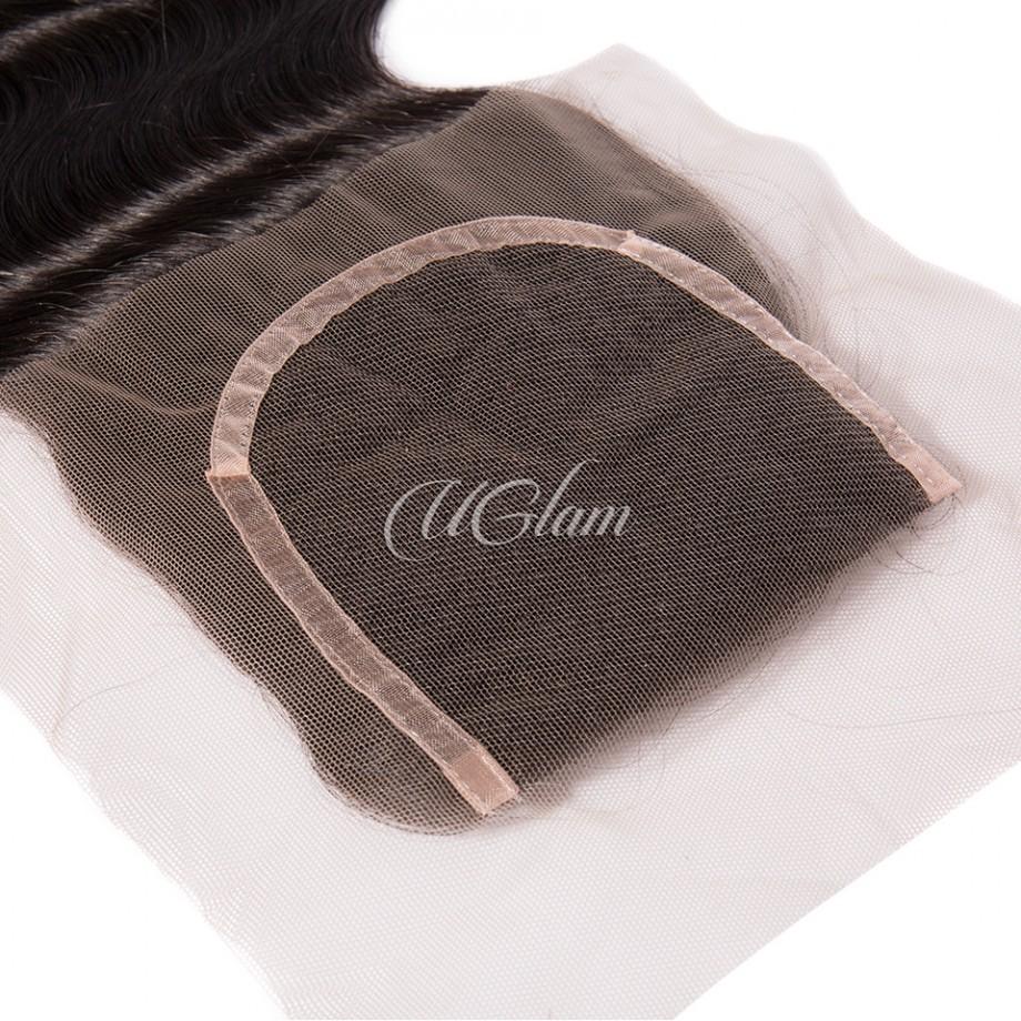 Uglam Hair 4x4 Lace Closure Malaysian Body Wave Sexy Formula
