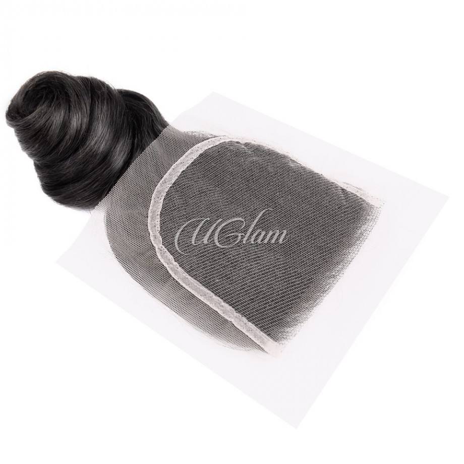 Uglam Hair 4x4 Lace Closure Malaysian Loose Wave Sexy Formula