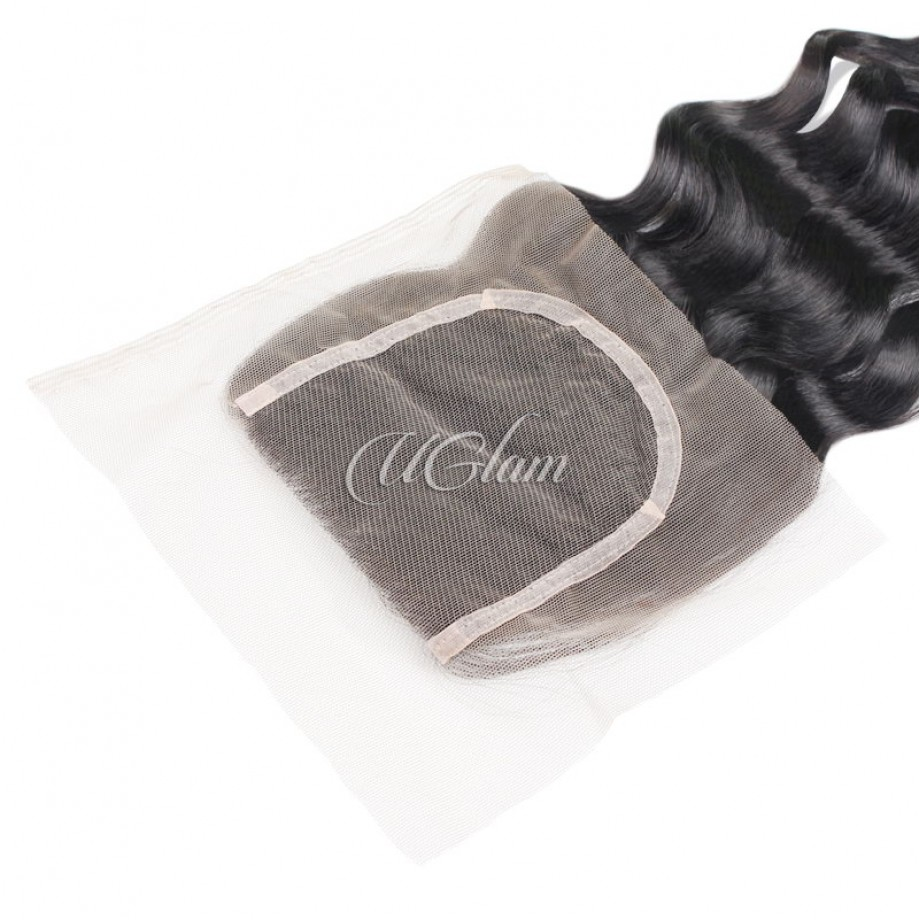Uglam Hair 4x4 Lace Closure Brazilian Nature Wave Sexy Formula