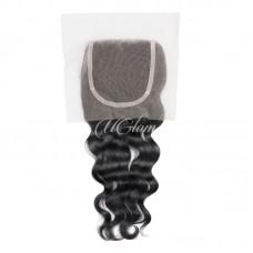 Uglam Hair 4x4 Lace Closure Peruvian Nature Wave Sexy Formula