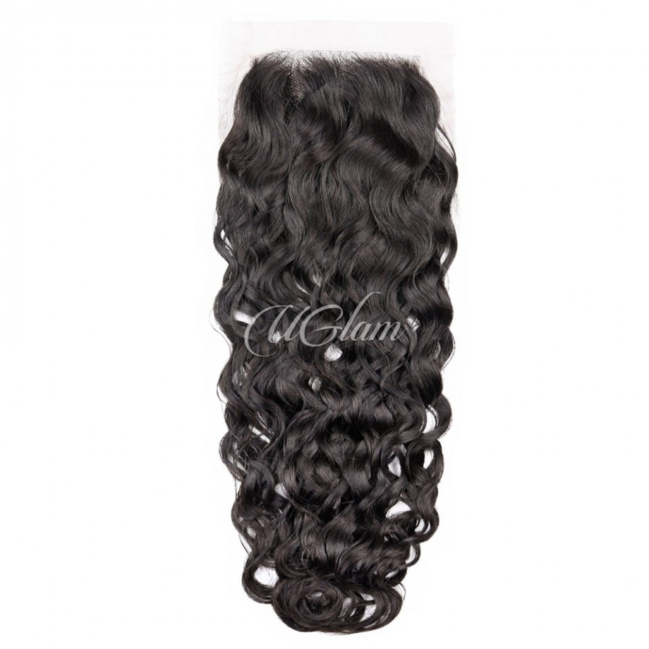 Uglam Hair 4x4 Lace Closure Water Wave Sexy Formula